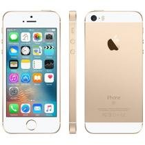 iPhone SE Apple 16GB Dourado 4G Tela 4 Retina - Câm. 12MP iOS 9 Proc. Chip A9 Touch ID