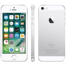 iPhone SE Apple 16GB Prateado 4G Tela 4 Retina - Câm. 12MP iOS 9 Proc. Chip A9 Touch ID