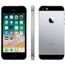 iPhone SE Apple 32GB Cinza Espacial 4G Tela 4 - Retina Câm. 12MP iOS 11 Proc. Chip A9 Touch ID