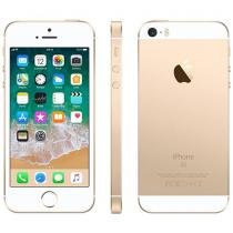 iPhone SE Apple 32GB Dourado 4G Tela 4 - Retina Câm. 12MP iOS 11 Proc. Chip A9 Touch ID