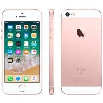 iPhone SE Apple 32GB Ouro Rosa 4G Tela 4 - Retina Câm. 12MP iOS 11 Proc. Chip A9 Touch ID