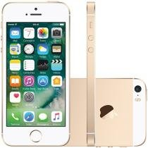 iPhone SE Apple 64GB Dourado 4G Tela 4 Retina - Câm. 12MP iOS 10 Proc. Chip A9 Touch ID