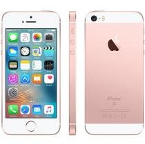iPhone SE Apple 64GB Ouro Rosa 4G Tela 4 Retina - Câm. 12MP iOS 9 Proc. Chip A9 Touch ID