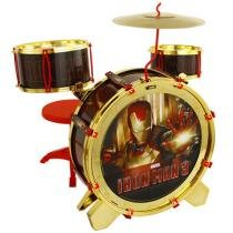 Iron Man 3 Bateria Acústica - Yellow