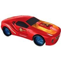 Iron Man 3 Carro Roda Livre 1:10 - Yellow