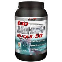 Iso Whey Protein Excell 90 900g Morango - New Millen