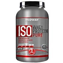 Iso Whey Protein Pure Morango 930g - Midway