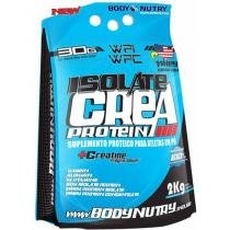Isolate Crea Protein Whey Protein 2Kg Chocolate - Body Nutry