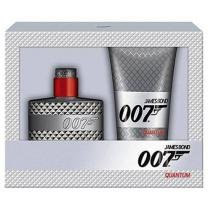 James Bond Kit 007 Quantum perfume Masculino - Eau de Toilette 50ml + Gel de Banho 150ml