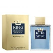 King of Seduction Absolute Eau de Toilette Antonio Banderas - Perfume Masculino - 200ml - Antonio Banderas