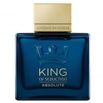 King of Seduction Absolute Eau de Toilette Antonio Banderas - Perfume Masculino - 50ml - Antonio Banderas