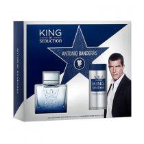 King of Seduction Eau de Toilette Antonio Banderas - Kit - Perfume Masculino + Desodorante Body Spray
