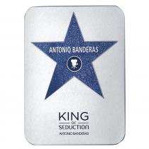 King of Seduction Eau de Toilette Deluxe Metalbox Antonio Banderas - Perfume Masculino - 200ml - Antonio Banderas