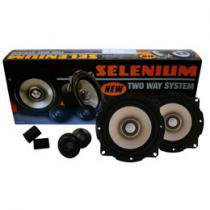 Kit 2 Vias Tweeter e Mid Range 5 Pol. 100W RMS - Selenium Kit two way 52V2A