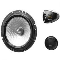 Kit 2 Vias Tweeter e Woofer 6 Polegadas 70W RMS