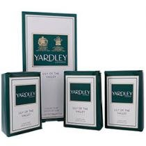 Kit com 3 Sabonetes Lily of Valley Luxury - Sabonete Perfumado em Barra - Yardley