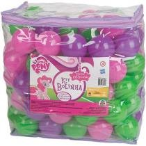 Kit de Bolinhas My Little Pony Braskit - 3006-6