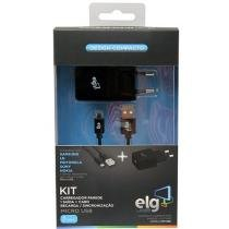 Kit de Carregador USB 1 Metro - ELG KT510WC