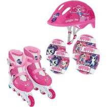 Kit de Patins My Little Pony Equestria - Conthey By Kids - 37 ao 40