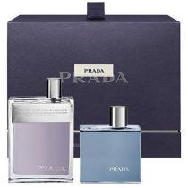Kit Prada Man Eau de Toilette - Perfume Masculino 100ml + Gel de Banho 100ml