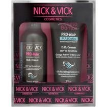 Kit Pro-Hair DD Cream Shampoo e Máscara - Nick & Vick