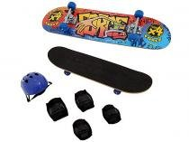 Kit Skate Force com Lixa e Acessrios