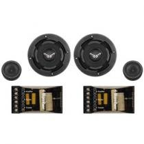 Kit Tweeter e Midbass 6 Polegadas 60W RMS