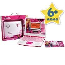 Laptop Barbie B-Book 80 Atividades Bilingue