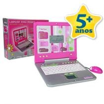 Laptop Pink Power Bilingue 80 Atividades
