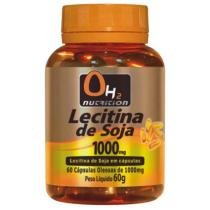 Lecitina de Soja 1000 Mg 60 Softgels - OH2 Nutrition