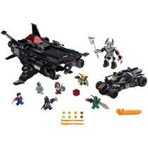 LEGO DC Comics Super Heroes Justice League Flying - Fox Batmobile Airlift Attack 955 Peças 76087