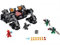 LEGO DC Comics Super Heroes Justice League - Knightcrawler Tunnel Attack 955 Peças 76086
