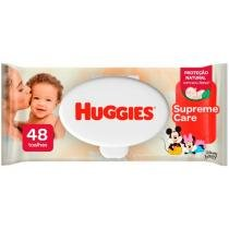 Lenços Umedecidos Huggies Natural Care - 48 unidades