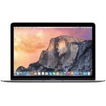 MacBook Retina LED 12 Apple MJY42BZ/A Cinza - Espacial Intel Core M 8GB 512GB OS X Yosemite