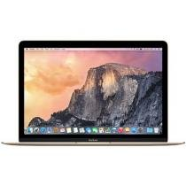MacBook Retina LED 12 Apple MK4N2BZ/A Dourado - Intel Core i3 8GB 512GB OS X Yosemite