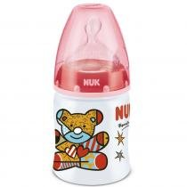 Mamadeira First Choice Design by Britto 150ml 0M+ Vermelho - Nuk -