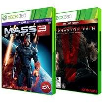 Mass Effect 3 EA + Metal Gear Solid V: The Phantom - Pain Day One Edition para Xbox 360 - Konami