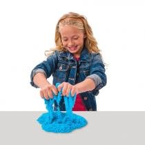 Massa Areia Kinetic Sand Colorida Azul - Sunny - sunny