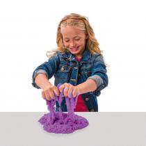 Massa Areia Kinetic Sand Colorida Roxo - Sunny - sunny