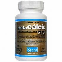 Meta Cálcio Plus 60 Cápsulas - Stem Pharmaceutical