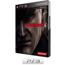 Metal Gear Solid 4: Guns of the Patriots p/ PS3 - Konami