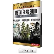 Metal Gear Solid HD Collection p/ PS3 - Coleção Favoritos - Konami