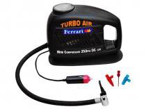Mini Compressor de Ar Turbo Air 12 Volts - Ferrari MCTA 12