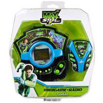 Mini Game + Radio Fm Max Steel