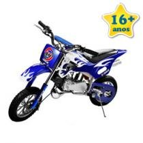 Mini Moto Cross a Gasolina Blue
