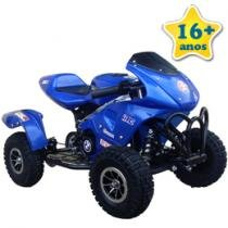 Mini Quadricilo Cross Gasolina 49cc Blue