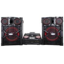 Mini System LG 1 CD 2 Subwoofers 2600W RMS - Bluetooth e MP3 USB X Boom Pro
