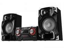 Mini System Panasonic 1 CD 580W RMS Memória - Interna 4GB Grava em MP3 Bluetooth SC-AKX440LBK
