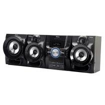 Mini System Philco Subwoofer 1100W RMS MP3 Karaokê - Ripping HDMI USB PH1100