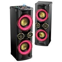 Mini System Philips 1 CD subwoofer 3200W RMS MP3 - USB Karaokê NTX800X/78